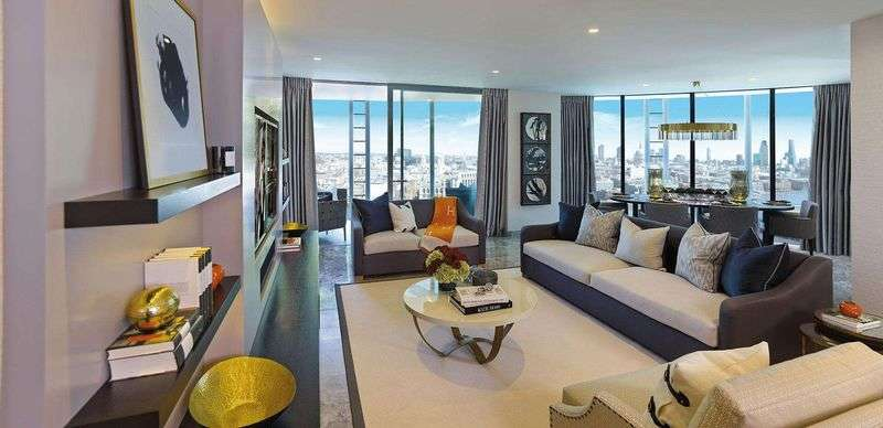 3 Bedrooms Flat for sale in 1-16 Blackfriars Road, London