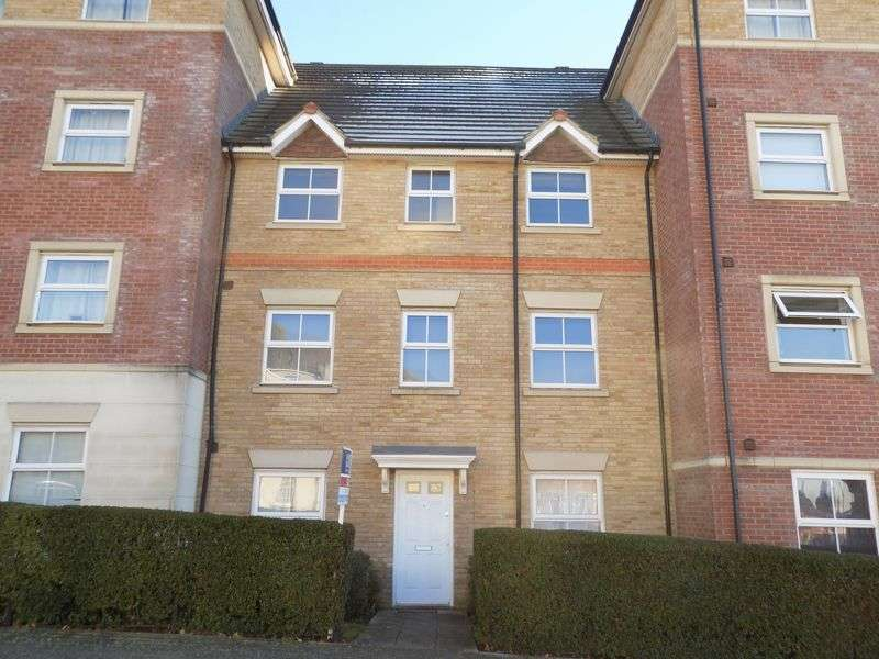 2 Bedrooms Flat for sale in Marbeck Close, Redhouse