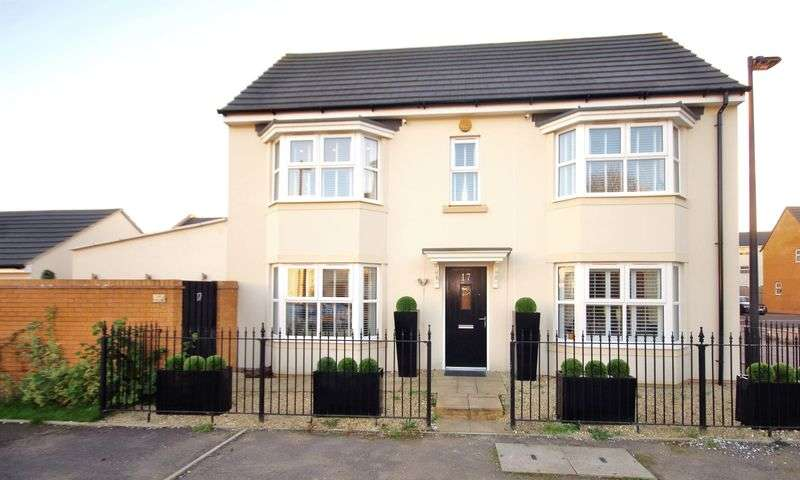 3 Bedrooms Detached House for sale in Oak Leaze, Charlton Hayes, Bristol
