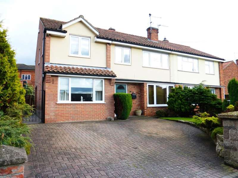 4 Bedrooms Semi Detached House for sale in Bullpit Road, Balderton, Newark, NG24