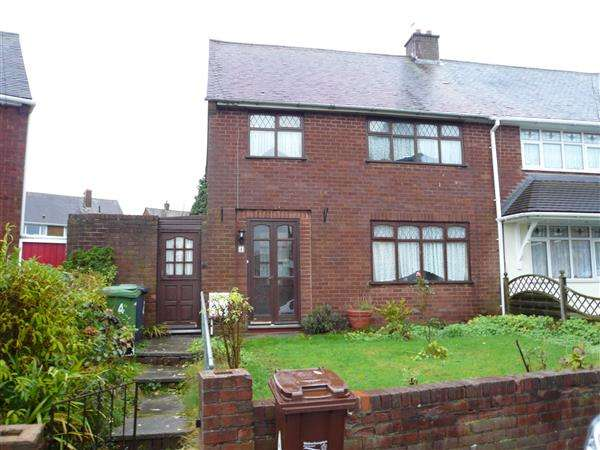 3 Bedrooms Semi Detached House for sale in Brindley Avenue, Ashmore Park, Wednesfield