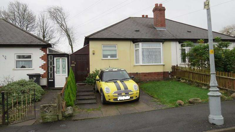 2 Bedrooms Bungalow for sale in Pruden Avenue, Lanesfield, Wolverhampton