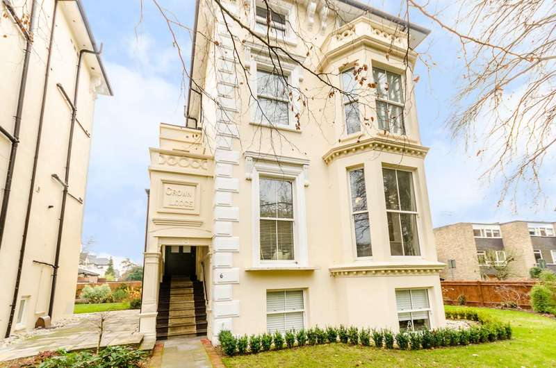 2 Bedrooms Flat for sale in Oak Hill, Surbiton, KT6