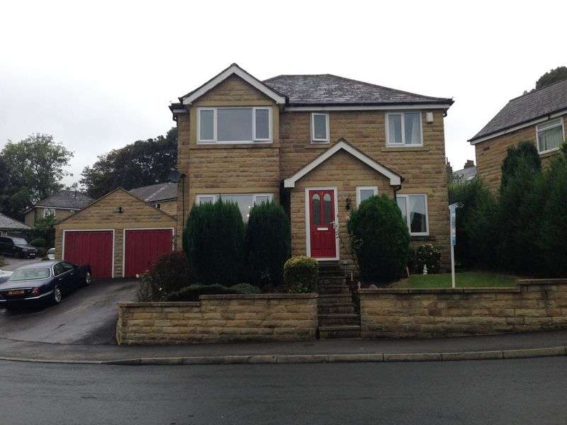 4 Bedrooms Detached House for sale in Ponyfield Close, Birkby, Huddersfield