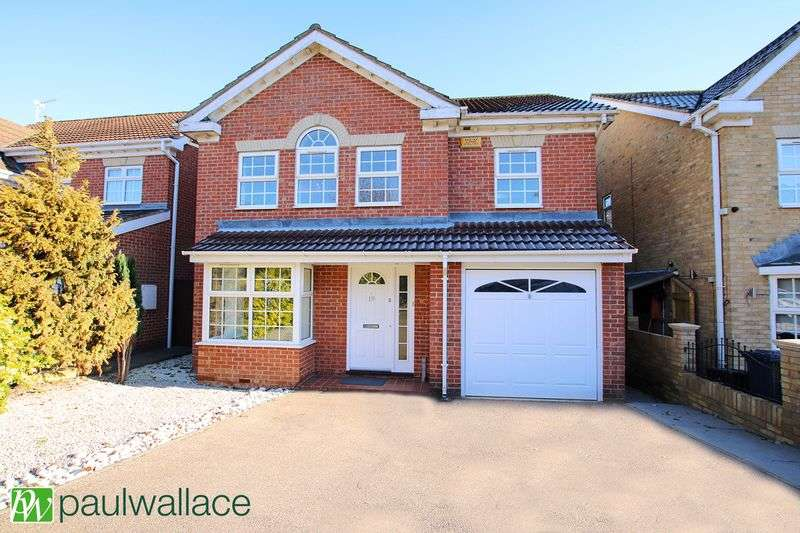4 Bedrooms Detached House for sale in Thompsons Close, Goffs Oak Borders