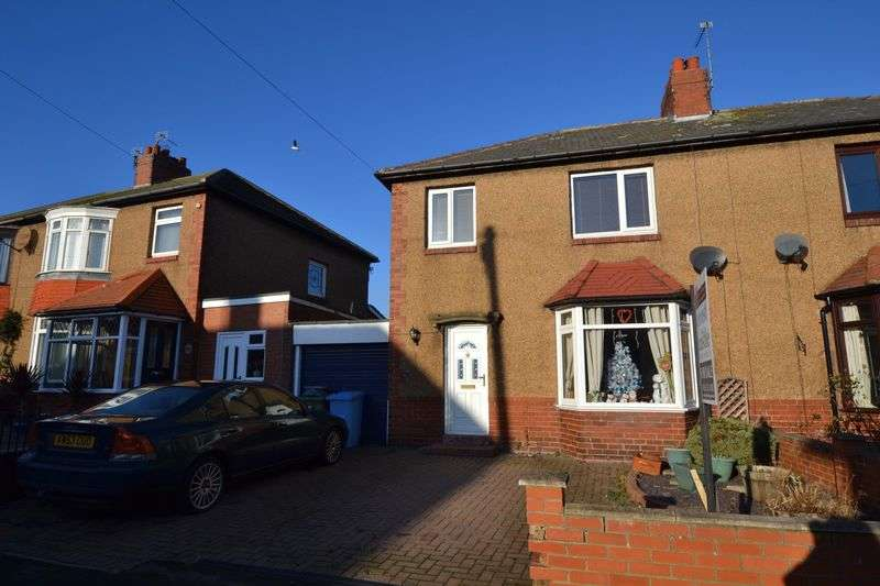 3 Bedrooms Semi Detached House for sale in Greensfield Avenue, Alnwick