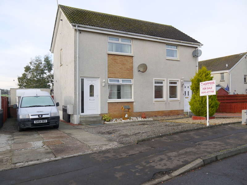 2 Bedrooms Semi Detached House for sale in Broadwood, Ayr, KA6