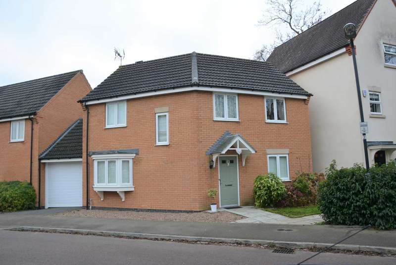 3 Bedrooms Detached House for sale in Crackthorne Drive, Coton Meadows