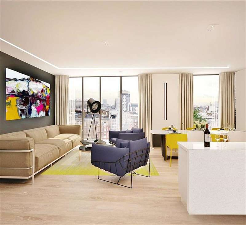 2 Bedrooms Property for sale in North One, Kings Cross, London