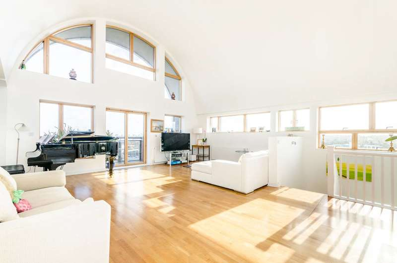 3 Bedrooms Flat for sale in Renaissance Walk, Greenwich, SE10