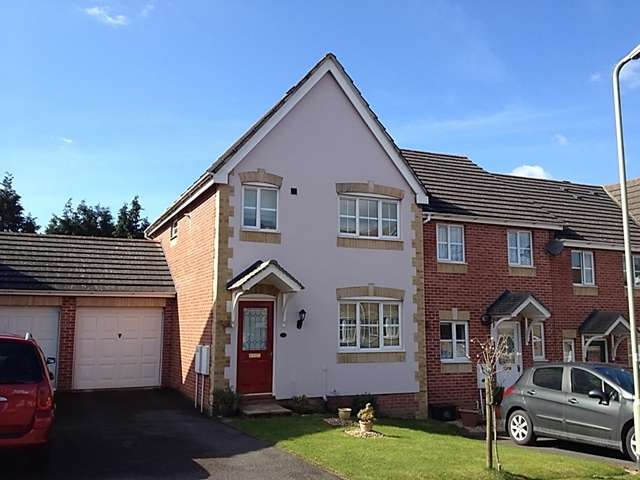 3 Bedrooms End Of Terrace House for sale in 3 Pale Gate Close, Honiton
