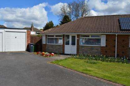 2 Bedrooms Bungalow for sale in Bronte Close, Shirley, Solihull, West Midlands