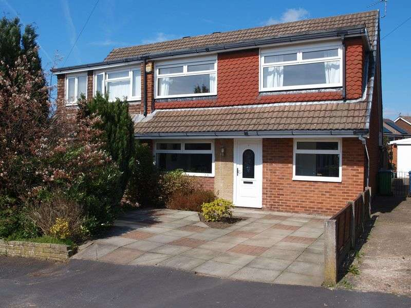 4 Bedrooms Semi Detached House for sale in Eafield Close, Milnrow, OL16 3JQ