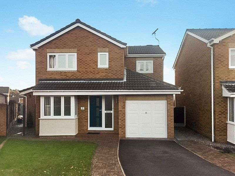 4 Bedrooms Detached House for sale in 7 Wood Syke, Dodworth, Barnsley, S75 3SZ