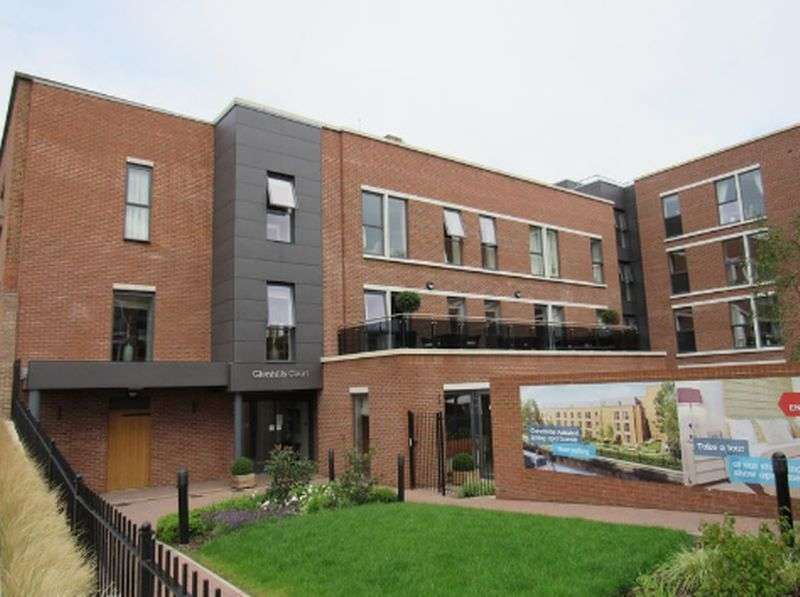 2 Bedrooms Flat for sale in Glen Hills Court,Little Glen Road, Leicester: Two bed with separate cloakroom Assisted Living retirement apartment