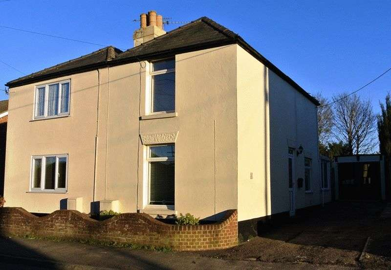 2 Bedrooms Semi Detached House for sale in Sandwich Road, Dover