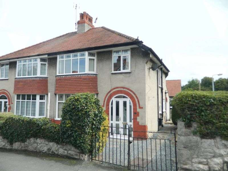 3 Bedrooms Semi Detached House for sale in Nant Y Glyn Road, Colwyn Bay