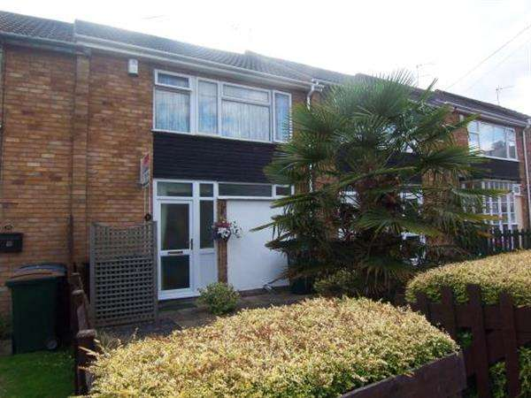 3 Bedrooms Terraced House for sale in Kinver Close, Coventry