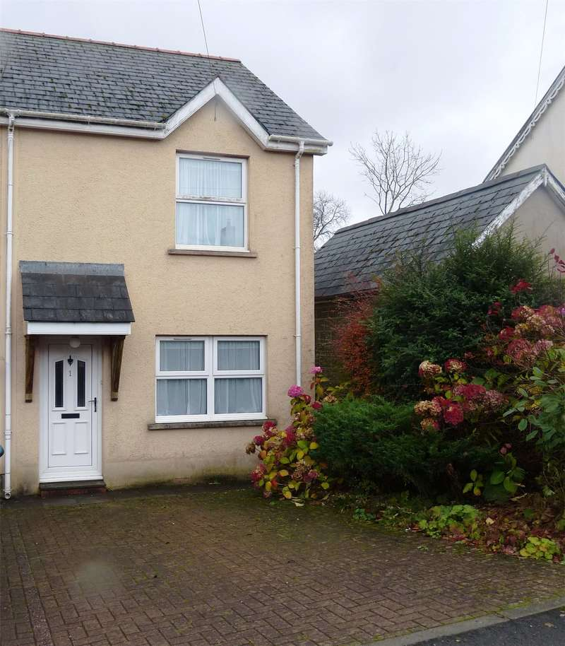 2 Bedrooms Semi Detached House for sale in Orchard Court, Station Approach, Narberth