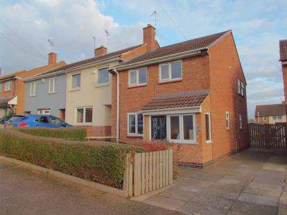 3 Bedrooms Semi Detached House for sale in Bowhill Grove, Leicester, Leicestershire