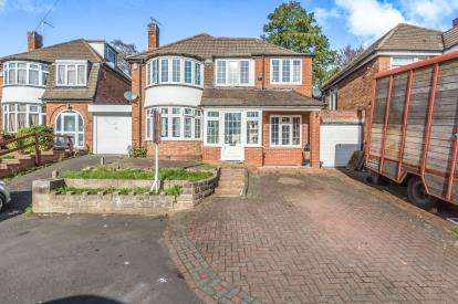 4 Bedrooms Link Detached House for sale in Pickwick Grove, Moseley, Birmingham, West Midlands