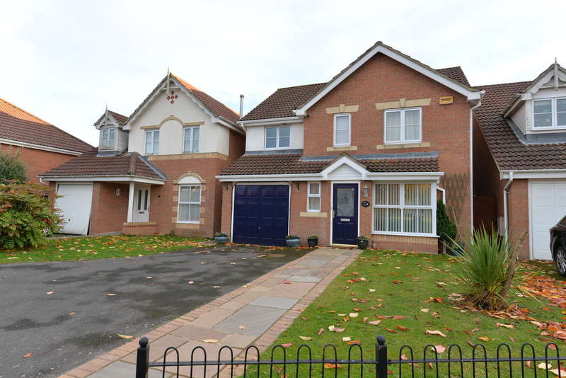 4 Bedrooms Detached House for sale in Danesbury Meadows, Ashley