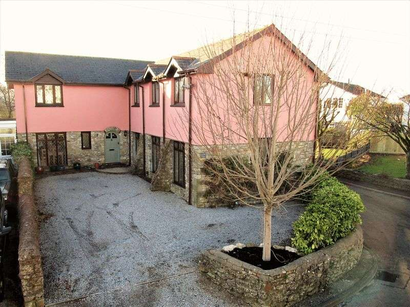 5 Bedrooms Detached House for sale in The Old Barn, Parc Newyddd, Treoes, Vale of Glamorgan, CF35 5DL