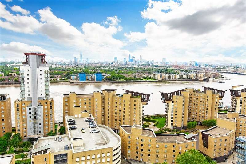 2 Bedrooms Apartment Flat for sale in Topmast Point, The Quarterdeck E14