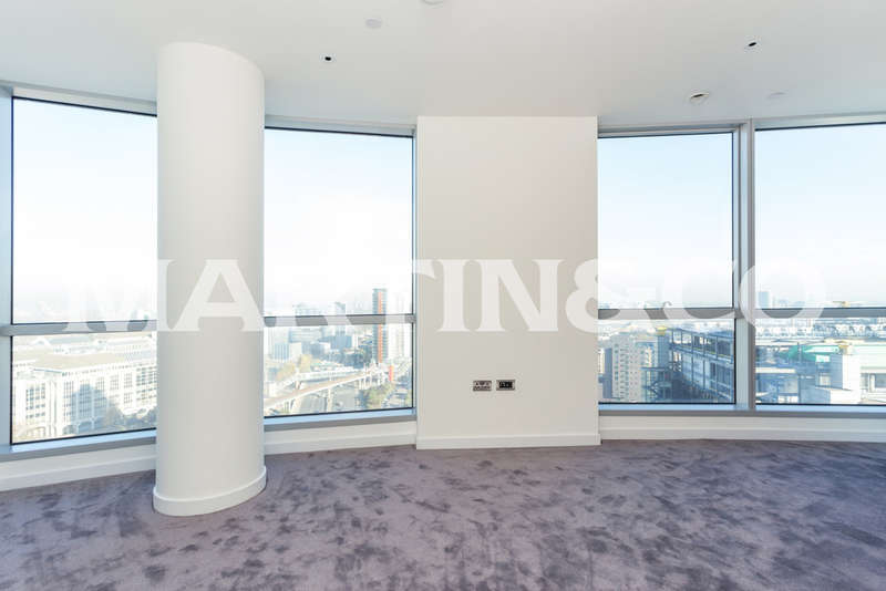 2 Bedrooms Apartment Flat for sale in Charrington Tower, 11 Biscayne Avenue E14