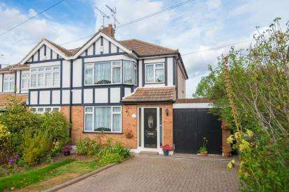 3 Bedrooms Semi Detached House for sale in Rayleigh Road, Hutton, Brentwood, Essex