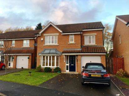 4 Bedrooms Detached House for sale in Cherrytree Drive, School Aycliffe, Newton Aycliffe, Durham