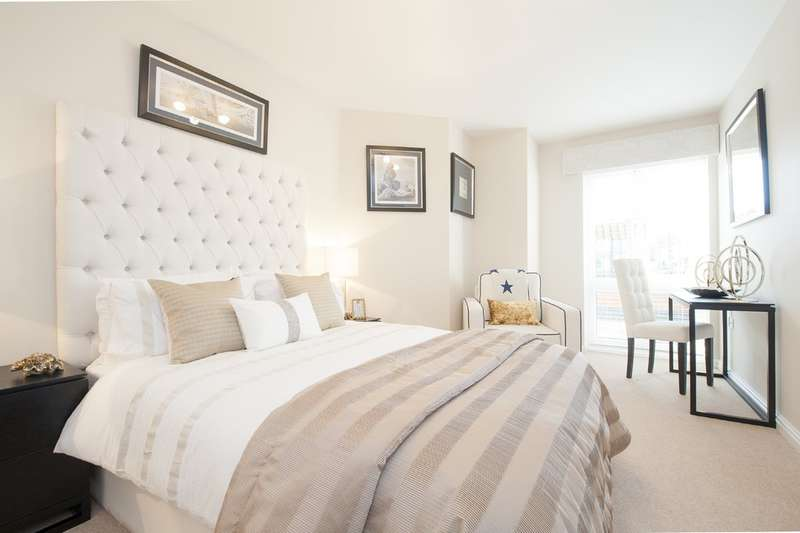 2 Bedrooms Flat for sale in Blunsdon Court