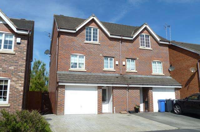 4 Bedrooms Semi Detached House for sale in Bearwood Way, Thornton Cleveleys, Lancashire, FY5 4FP