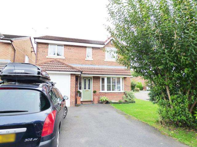 4 Bedrooms Detached House for sale in Gravners Field, Thornton Cleveleys, Lancashire, FY5 4EY