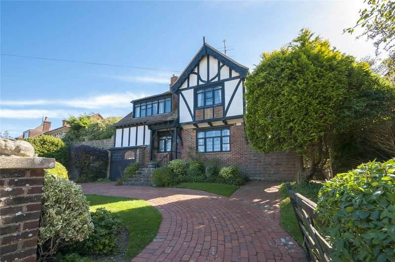 4 Bedrooms Detached House for sale in Dean Court Road, Rottingdean, Brighton, East Sussex, BN2