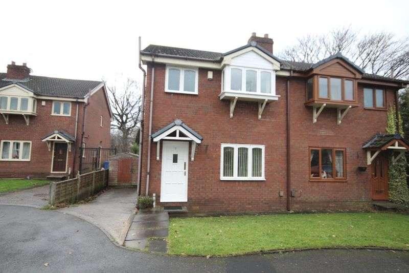 3 Bedrooms Semi Detached House for sale in NURSERY GARDENS, Rochdale OL16 2UW