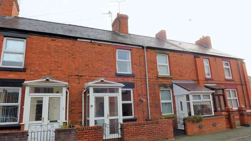 2 Bedrooms Terraced House for sale in Offa Street, Wrexham