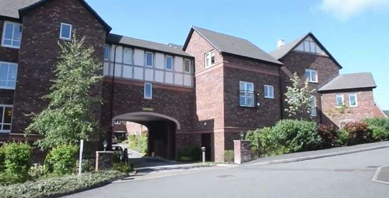 1 Bedroom Flat for sale in Beatty Court,Holland Walk, Nantwich: NO CHAIN one bed first floor retirement apartment