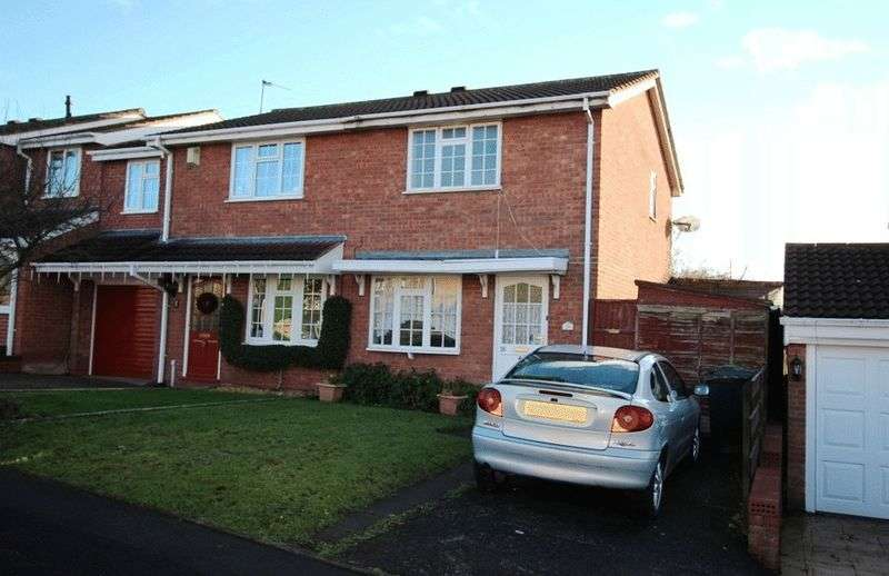 2 Bedrooms Semi Detached House for sale in Brelades Close, MILKING BANK