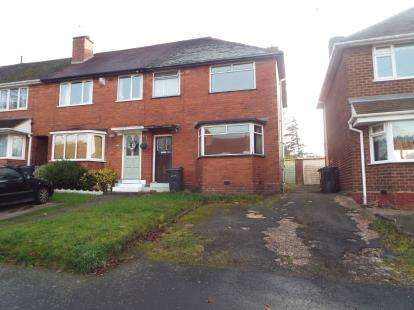 3 Bedrooms Semi Detached House for sale in Brackenfield Road, Birmingham, West Midlands