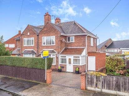 3 Bedrooms Semi Detached House for sale in Glencairn Drive, Nottingham, Nottinghamshire