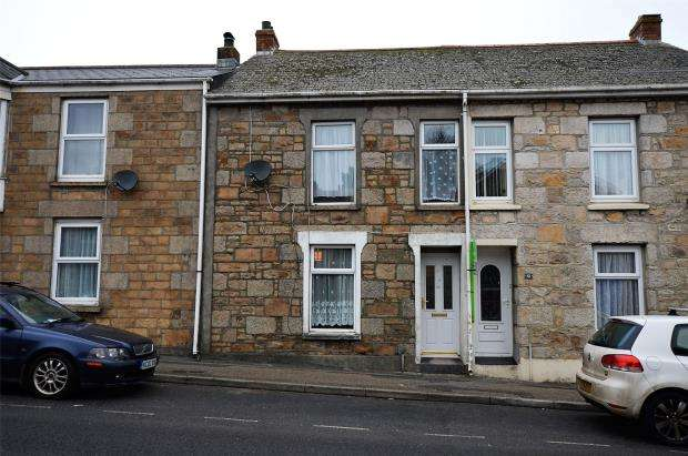 4 Bedrooms Terraced House for sale in Pendarves Street, Tuckingmill, Camborne, Cornwall