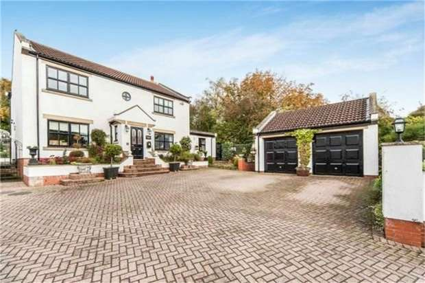 4 Bedrooms Detached House for sale in The Green, Elwick, Hartlepool, Durham