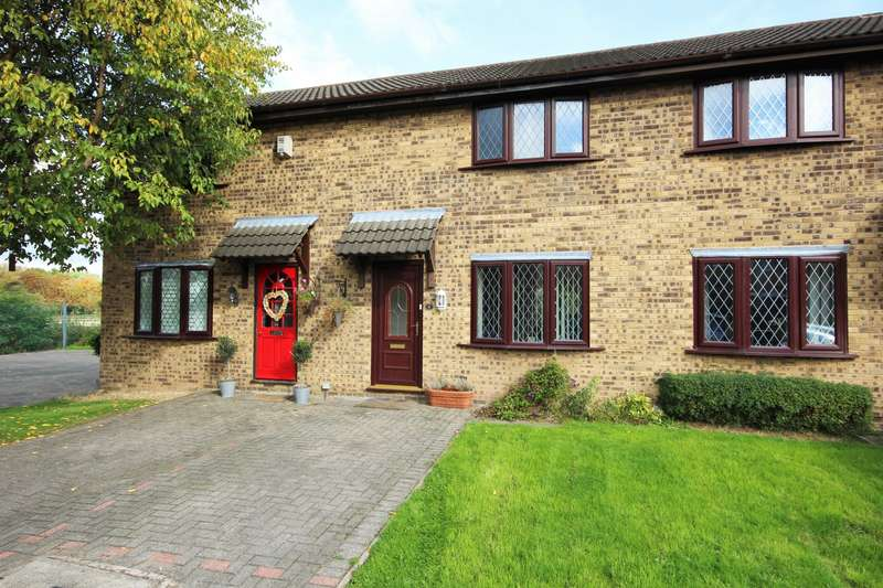 2 Bedrooms Terraced House for sale in Field Close, Northwich, CW8
