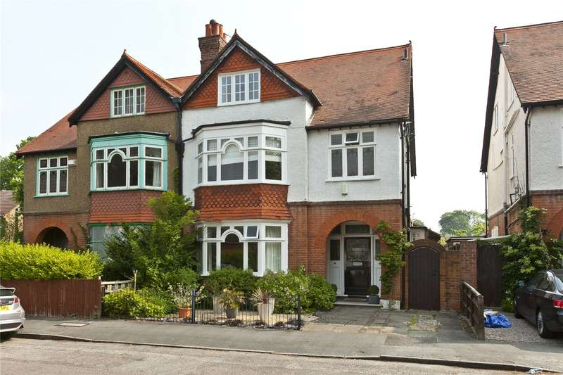 6 Bedrooms Semi Detached House for sale in Curzon Road, Weybridge, Surrey, KT13