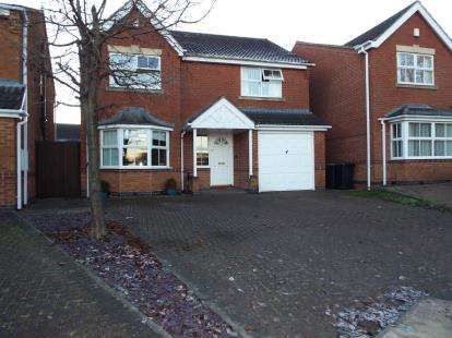 4 Bedrooms Detached House for sale in Hillingdon Avenue, Nuthall, Nottingham, Nottinghamshire