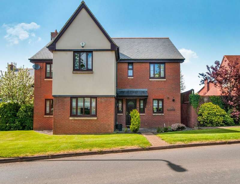 5 Bedrooms Detached House for sale in Old Rydon Ley, Exeter, EX2
