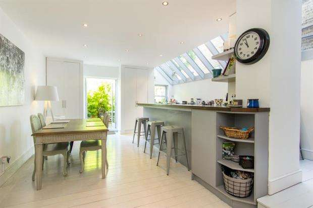 5 Bedrooms Terraced House for sale in Fabian Road, Fulham, London, SW6