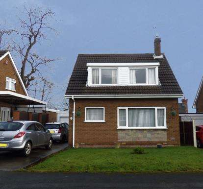 3 Bedrooms Detached House for sale in High Tor, Sutton In Ashfield, Nottingham, Nottinghamshire