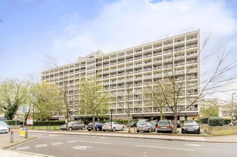 2 Bedrooms Flat for sale in Wimborne House, Dorset Road, Oval